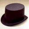 Black Better Felt Top Hat Large
